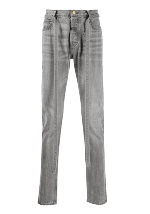 Fear Of God mid-rise slim-fit jeans - Grey
