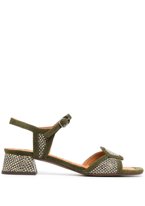 Chie Mihara Ugena 25mm sandals - Green