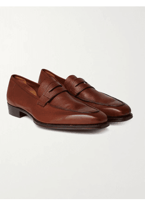GEORGE CLEVERLEY - George Leather Loafers - Men - Brown - UK 7