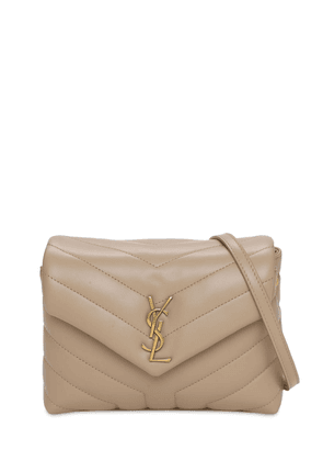 Toy Loulou Monogram Quilted Leather Bag