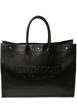 Large Rive Gauche Leather Tote Bag