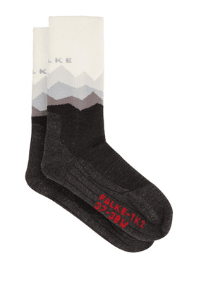 Falke - Tk2 Crest Walking Jersey Socks - Womens - Black
