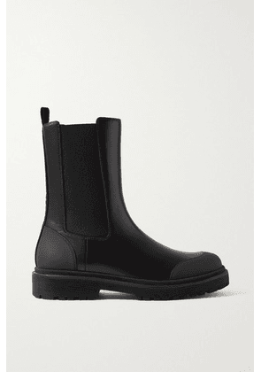Moncler - Patty Leather Chelsea Boots - Black