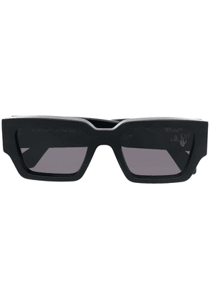 Off-White Mari rectangle-frame sunglasses - Black