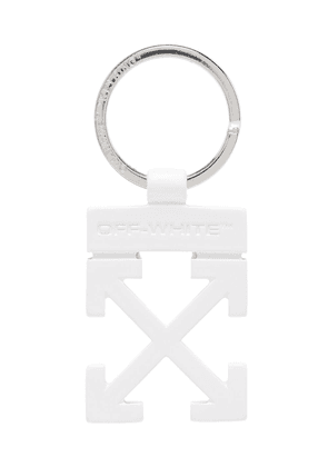 Off-White arrows-logo keyring - Metallic