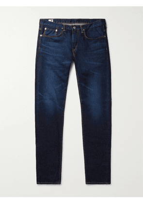 EDWIN - Kaihara Slim-Fit Tapered Selvedge Stretch-Denim Jeans - Men - Blue - UK/US 28