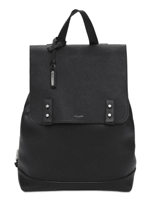 Logo Sac De Jour Leather Backpack