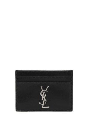 Monogram Leather Card Holder