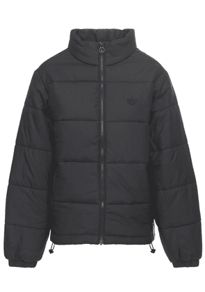 Padded Puffer Jacket W/ Stand Collar