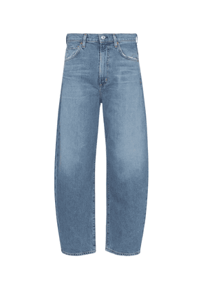 Calista high-rise tapered jeans
