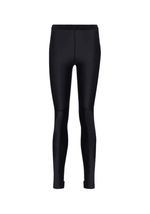 Mid-rise stretch-jersey leggings