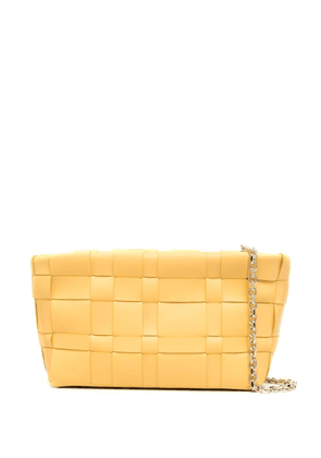 3.1 Phillip Lim Odita calf leather clutch bag - Yellow
