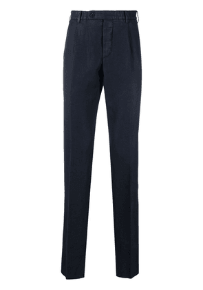 Gabriele Pasini textured tailored suit trousers - Blue