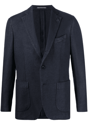 Gabriele Pasini single-breasted blazer - Blue