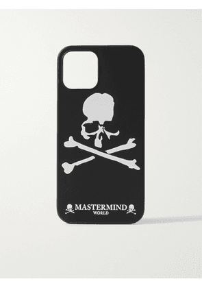 MASTERMIND WORLD - Logo-Print iPhone 12/ 12 Pro Case - Men - Black