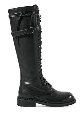 30mm Santiago Tall Leather Boots