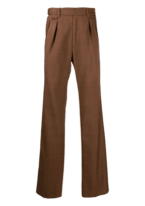 TOM FORD dart-detailing tailored trousers - Brown