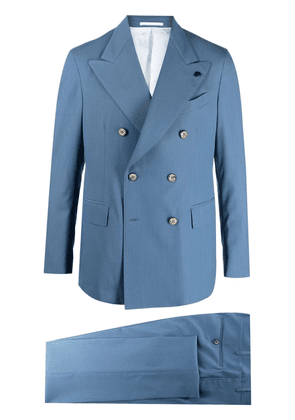 Gabriele Pasini formal double-breasted suit - Blue