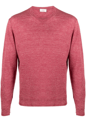 Altea crew-neck knitted jumper - Red