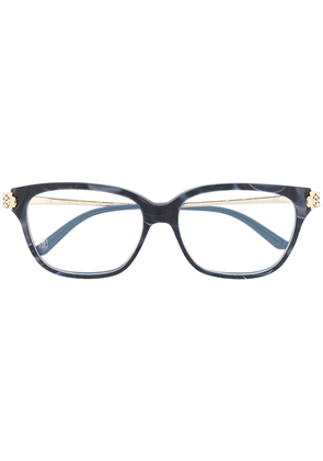 Cartier Eyewear Panthère square frame optical glasses - Blue