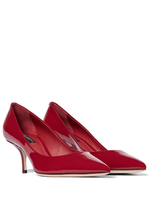 Exclusive to Mytheresa – Patent leather pumps