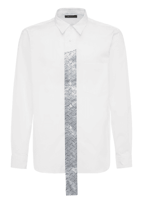 Cotton Broad Shirt W/ Tech Placket