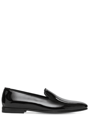 Mario Patent Leather Loafers
