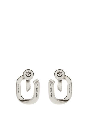 Givenchy - G-link Metal Earrings - Womens - Silver