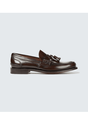 Tiverton leather loafers