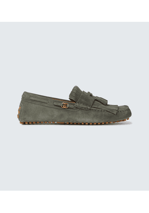 Suede Supersofty loafers
