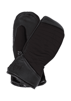 Cata leather-trimmed ski gloves