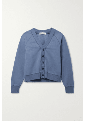 Alex Mill - Davie Cotton-jersey Cardigan - Blue