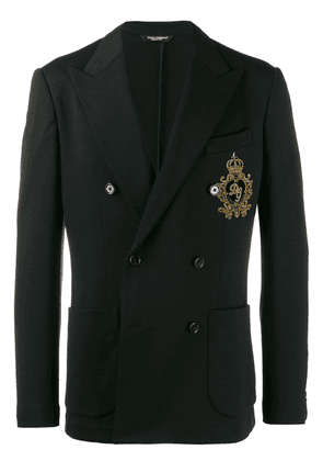 Dolce & Gabbana double-breasted jacket - Black