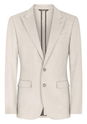 Dolce & Gabbana Taormina-fit single-breasted blazer - Neutrals
