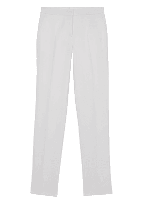 Burberry tailored straight-leg trousers - White