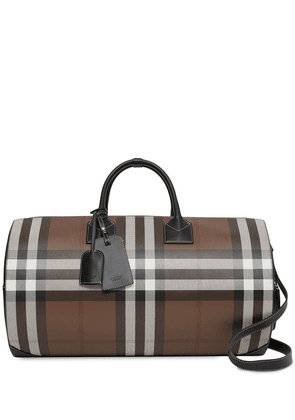 Burberry Vintage Check-print holdall - Brown