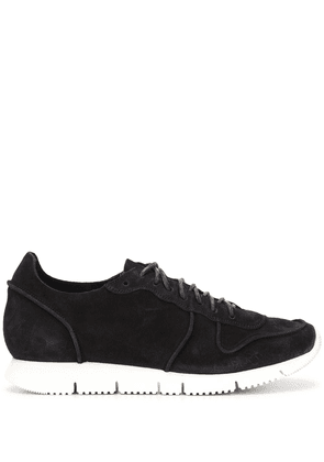 Buttero two tone low top sneakers - Black