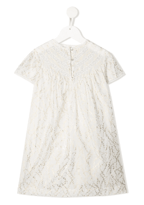 Bonpoint floral print dress - White