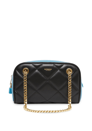 Burberry small Double Cube two-tone bag - Black