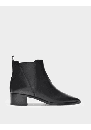 Acne Studios Ankle Boots Jensen in Black Leather