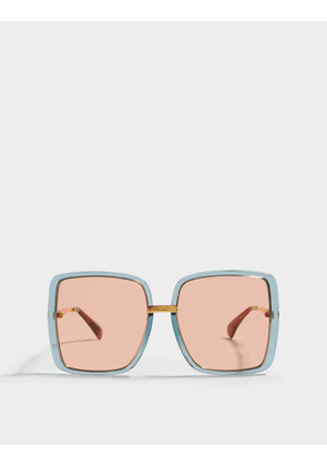Gucci Dylan Sunglasses in Light-Blue