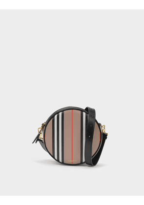 Burberry Ls Louise Bag in Archive Beige Cotton and Polyurethane