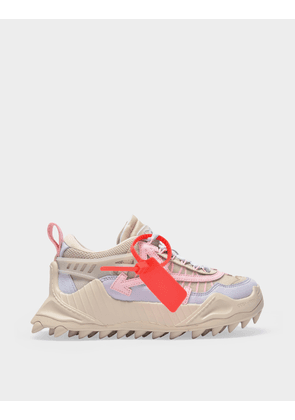 Off-White Odsy-1000 Sneakers in Beige Pink