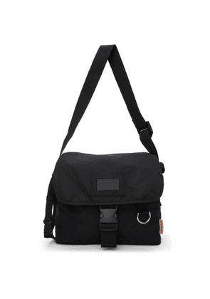 Acne Studios Black Large Canvas Messenger Bag
