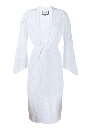 Alexis Adalyn embroidered cardigan - White
