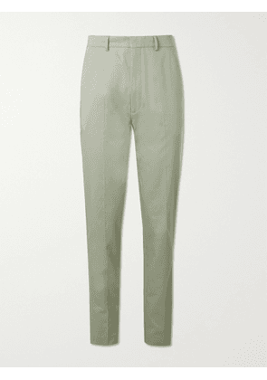 BELLEROSE - Sammy Tapered Cotton-Twill Chinos - Men - Green - FR 36