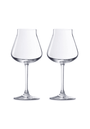 Baccarat - Set-Of-Two Château Baccarat White Wine Glasses - Color: White - Material: crystal - Moda Operandi