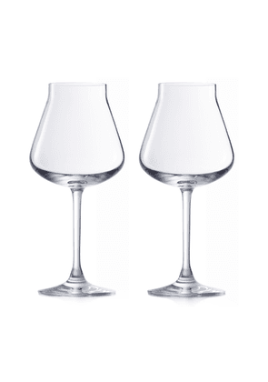 Baccarat - Set-Of-Two Château Baccarat Red Wine Glasses  - Color: White - Material: crystal - Moda Operandi