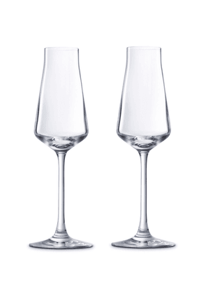 Baccarat - Set-Of-two Château Champagne Flutes  - Color: White - Material: crystal - Moda Operandi