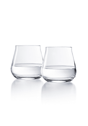 Baccarat - Set-Of-Two Château Double Old Fashion Tumblers  - Color: White - Material: crystal - Moda Operandi